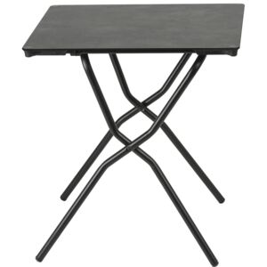 Lafuma Anytime Square Table Mineral (Black Frame)