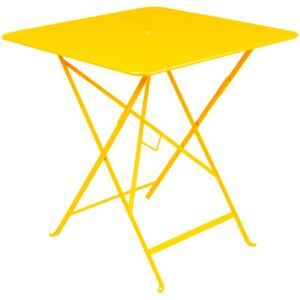 Bistro Foldable table by Fermob Yellow