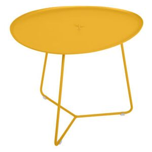 Cocotte Coffee table - / L 55 x H 43.5 cm - Detachable table top by Fermob Yellow