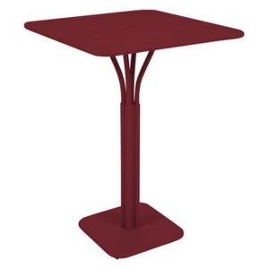 Luxembourg High table - 80 x 80 x H 105 cm by Fermob Red