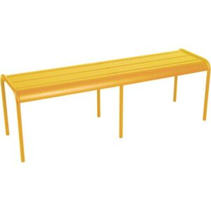Luxembourg Bench by Fermob Yellow