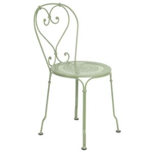 1900 Stacking chair - Metal by Fermob Green