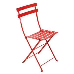 Bistro Folding chair - Metal by Fermob Red
