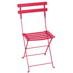 Bistro Folding chair - / metal by Fermob Pink