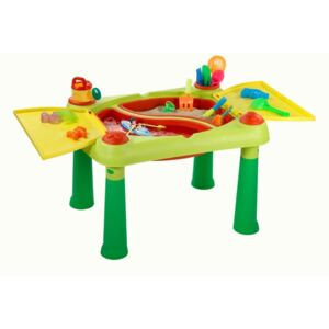 Keter Play Table Sand & Water Red and Yellow 178668
