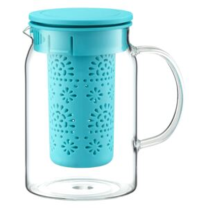 Teapot Nordic with infuser and lid 1000 ml turquoise AMBITION