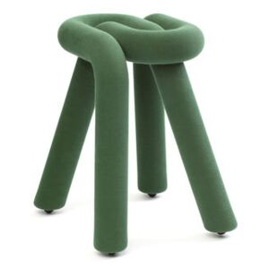 Bold Stool - / Padded by Moustache Green