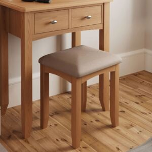 Guildford Solid Oak Dressing Table Stool