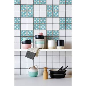 Tile decals Baby Blue Portugal