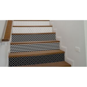 Stair decals Geometric Abstractions