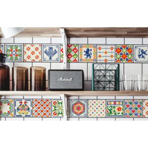 Tile decals Colorful Folklore