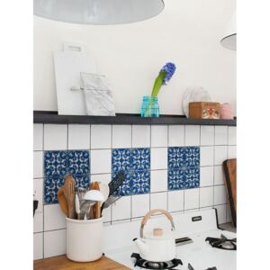 Tile decals Blue Morocco