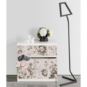 Ikea Malm Decals Vintage Roses