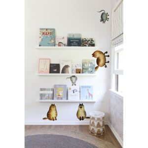 Wall decals Cat and Mouse
