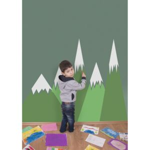 Wall decals Green Mountains