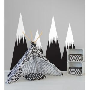 Wall decals Black Mountains
