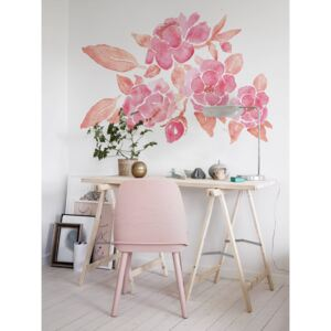 Wall decals Watercolor Blush