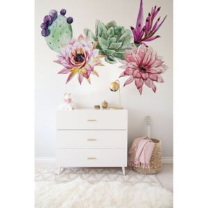 Wall decals Watercolor Cactis
