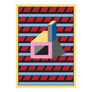 Nathalie du Pasquier - Manifesto 05 Poster - / 49 x 67.8 cm by The Wrong Shop Multicoloured