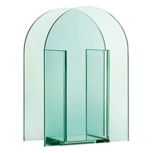 Arch Small Vase - / H 20 cm - Glass by & klevering Green