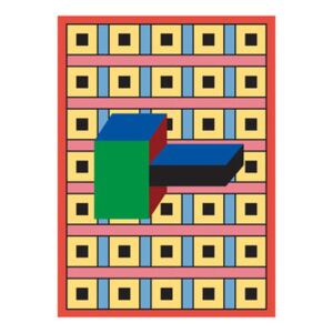 Nathalie du Pasquier - Manifesto 02 Poster - / 49 x 67.8 cm by The Wrong Shop Multicoloured