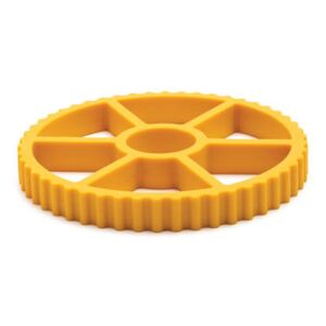 Rotelle Tablemat - / Silicon by Pa Design Yellow