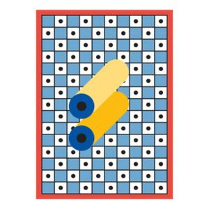 Nathalie du Pasquier - Manifesto 03 Poster - / 49 x 67.8 cm by The Wrong Shop Multicoloured