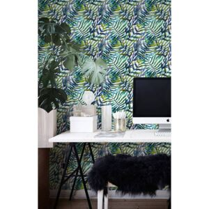 Wallpaper Bunch of Tropical Leaves