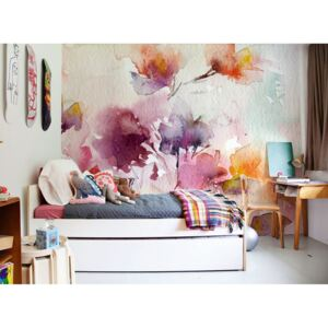 Wallpaper Wall Painting full of Flowers