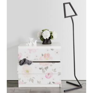 Ikea Malm Decals Vintage Flowers