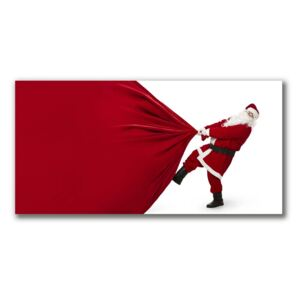 Canvas print Holy Father Christmas Gifts fi 30 cm