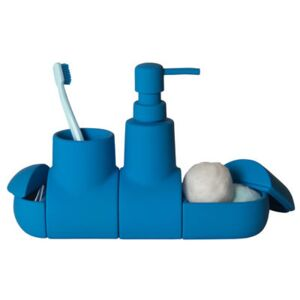 Submarine Accessories set - For bathroom by Seletti Blue