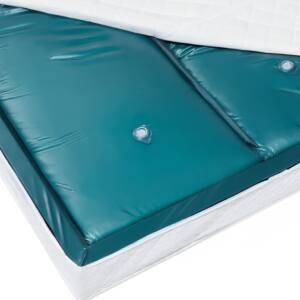 Waterbed Mattress Dual 200 x 200 cm 6ft5 with Protecting Foil Soft-Side Beliani