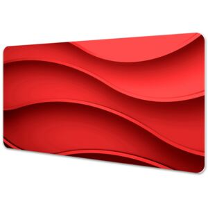 Desk mat Abstraction red 45x90cm