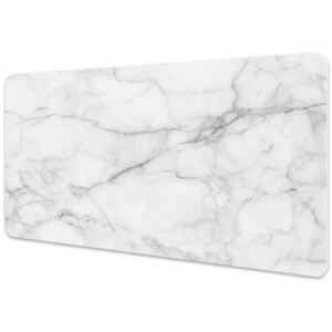 Large desk pad PVC protector Marble gray 45x90cm