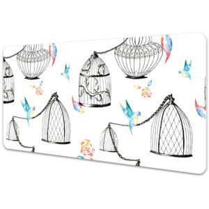 Full desk pad Cages for birds 45x90cm