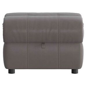 Link Leather Footstool- World of Leather