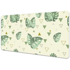 Desk mat Monster and triangles 45x90cm