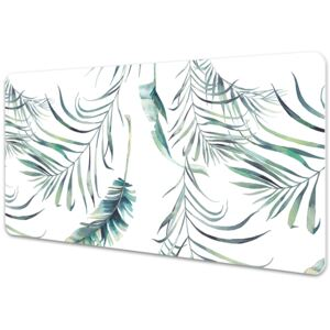 Full desk protector Leaves like feathers 45x90cm