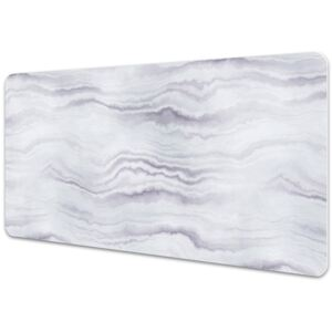 Large desk mat table protector Stone pattern 45x90cm