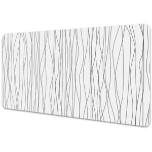 Full desk protector chaotic lines 45x90cm