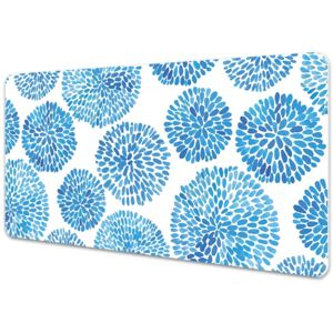 Large desk mat table protector Japanese pattern 45x90cm