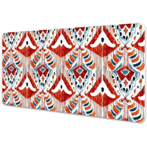 Large desk mat table protector ethnic style 45x90cm