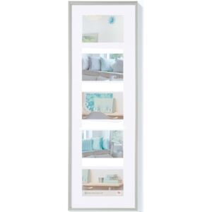 Walther Design Picture Frame New Lifestyle 5x10x15 cm Silver