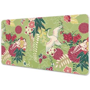 Large desk mat table protector fauna and Flora 45x90cm