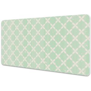 Large desk mat table protector colorful pattern 45x90cm
