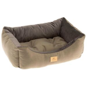 Ferplast Dog and Cat Bed Chester 50 Brown