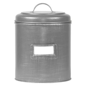 LABEL51 Canister 10x10x15 cm S Antique Grey