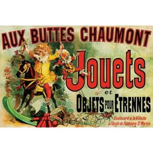 Poster JOUETS - as seen on friends/toys, (91.5 x 61 cm)