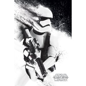 Poster Star Wars Episode VII: The Force Awakens - Stormtrooper Paint, (61 x 91.5 cm)
